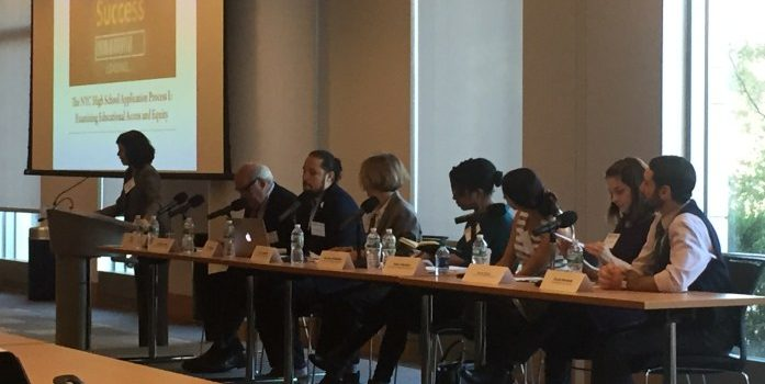 NYC School Choice Panel at Fordham Law School