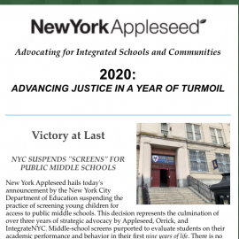 Advancing Justice in a Year of Turmoil: NY Appleseed's Year-in-Review